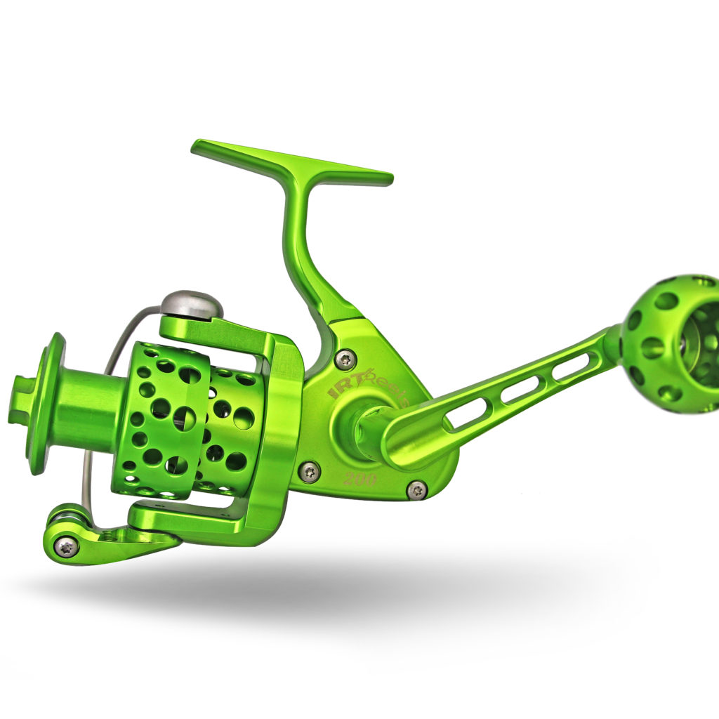 IRT200 Lime Green Spinning Reel