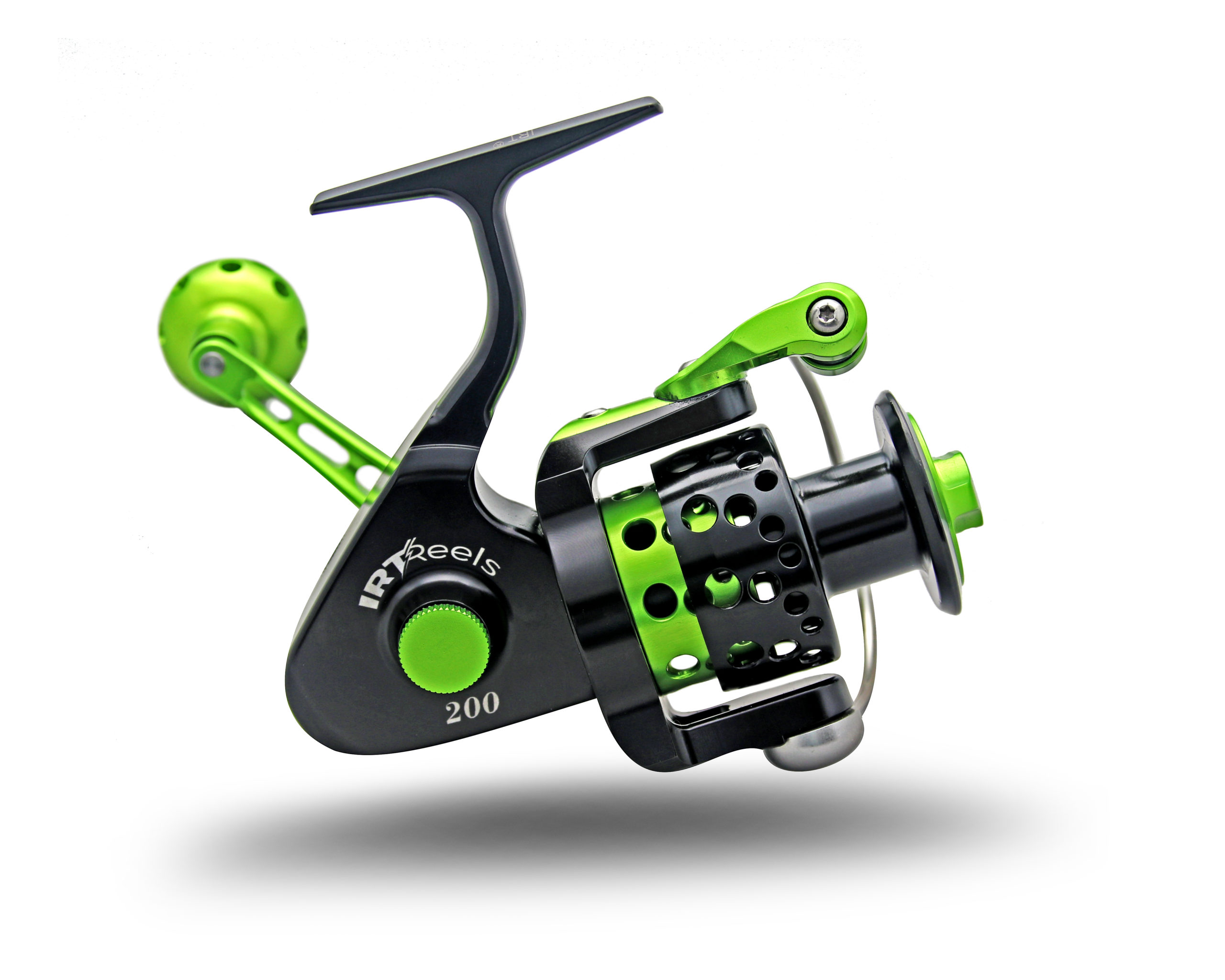 IRT200 Black and Green Spinning Reel